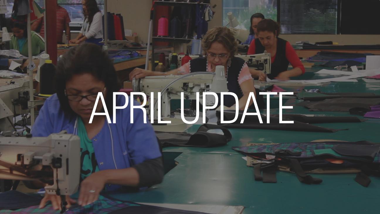 April 2015 Update