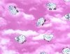 264 Sheep in Clouds Pink