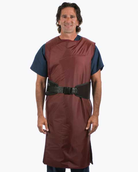 Black Belt Full Wrap Lead Apron – Male