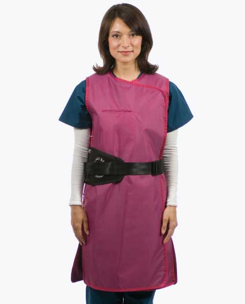 Black Belt Full Wrap Lead Apron – Female