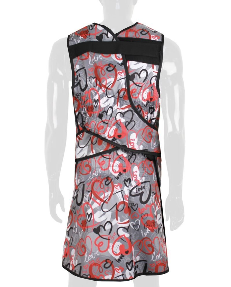 Lead Apron Elastic Vest Skirt EVAS Back
