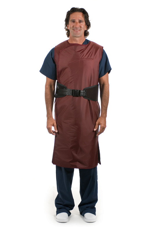 LSWM, Male Black Belt Full Wrap Apron