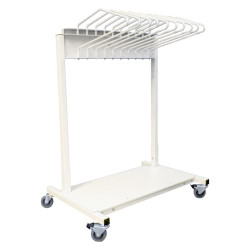 Budget Saver Mobile Apron Rack
