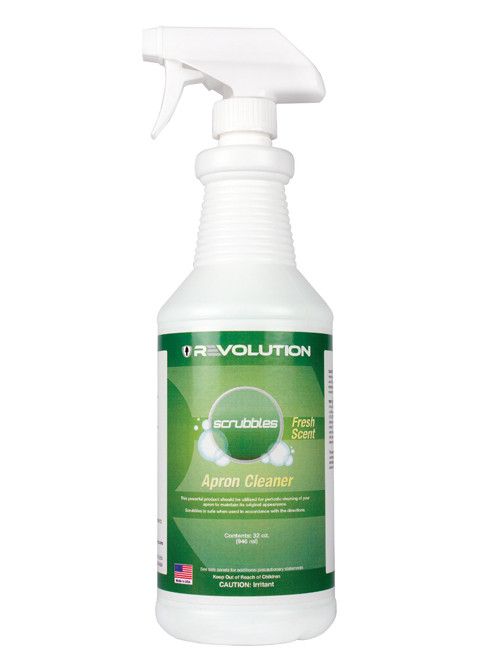 Revolution Scrubbles Lead Apron Cleaner