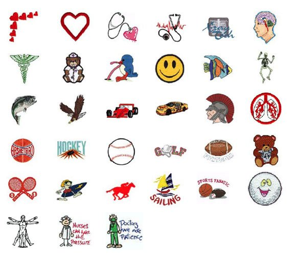 Lead Apron Logos