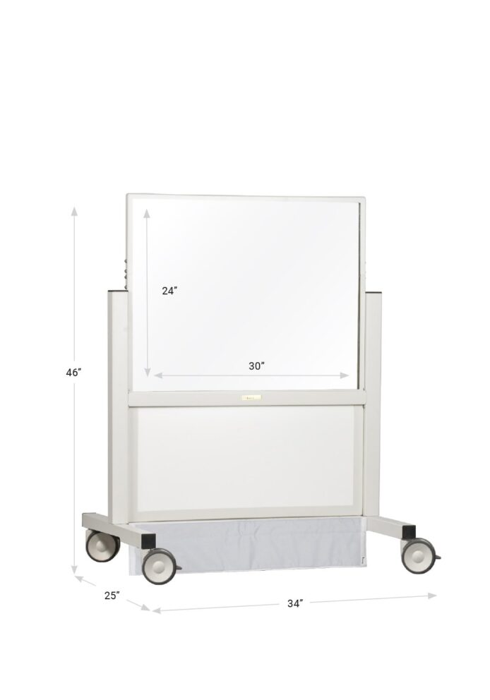 X-ray mobile barrier shorty 683458 dimensions