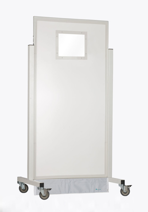 Small Window X-ray Mobile Barrier