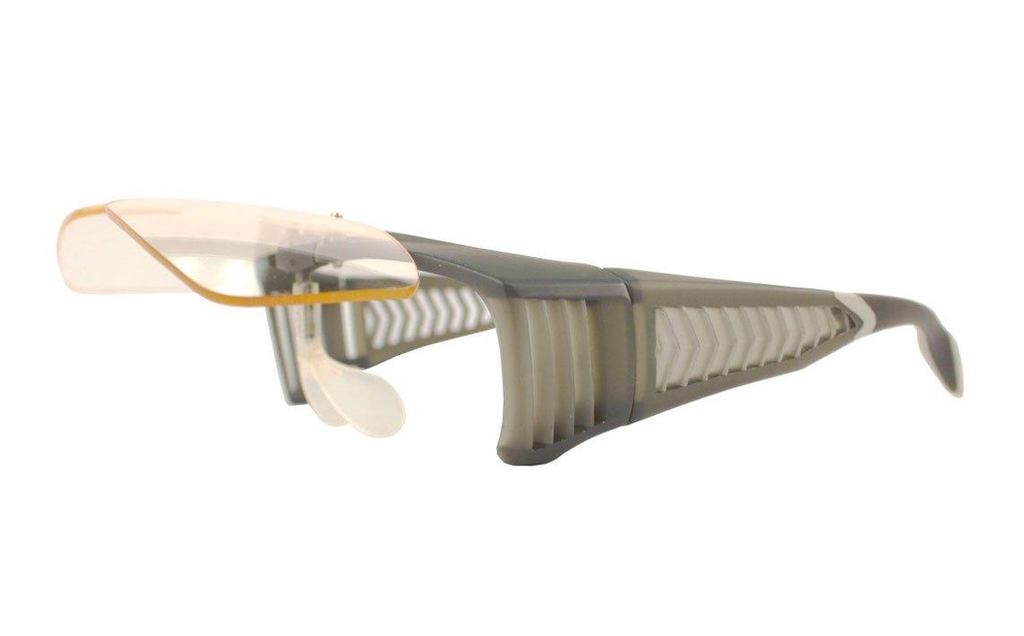 lead glasses flip top