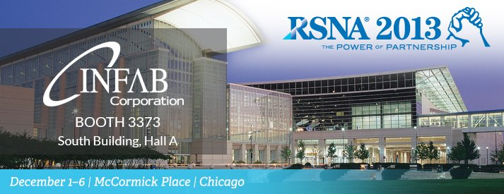 Infab will be at RSNA 2013