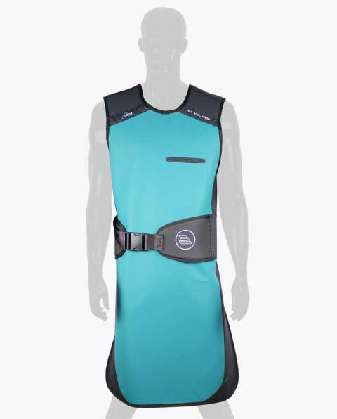 Revolution Front Protection Black Belt Lead Apron