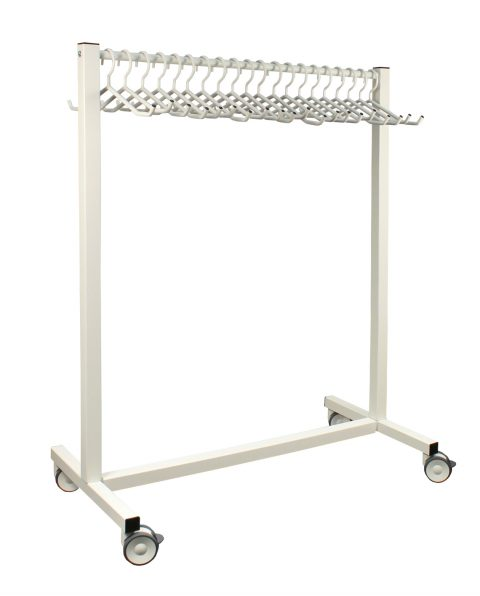 20 Hanger Mobile Apron Rack – 683438