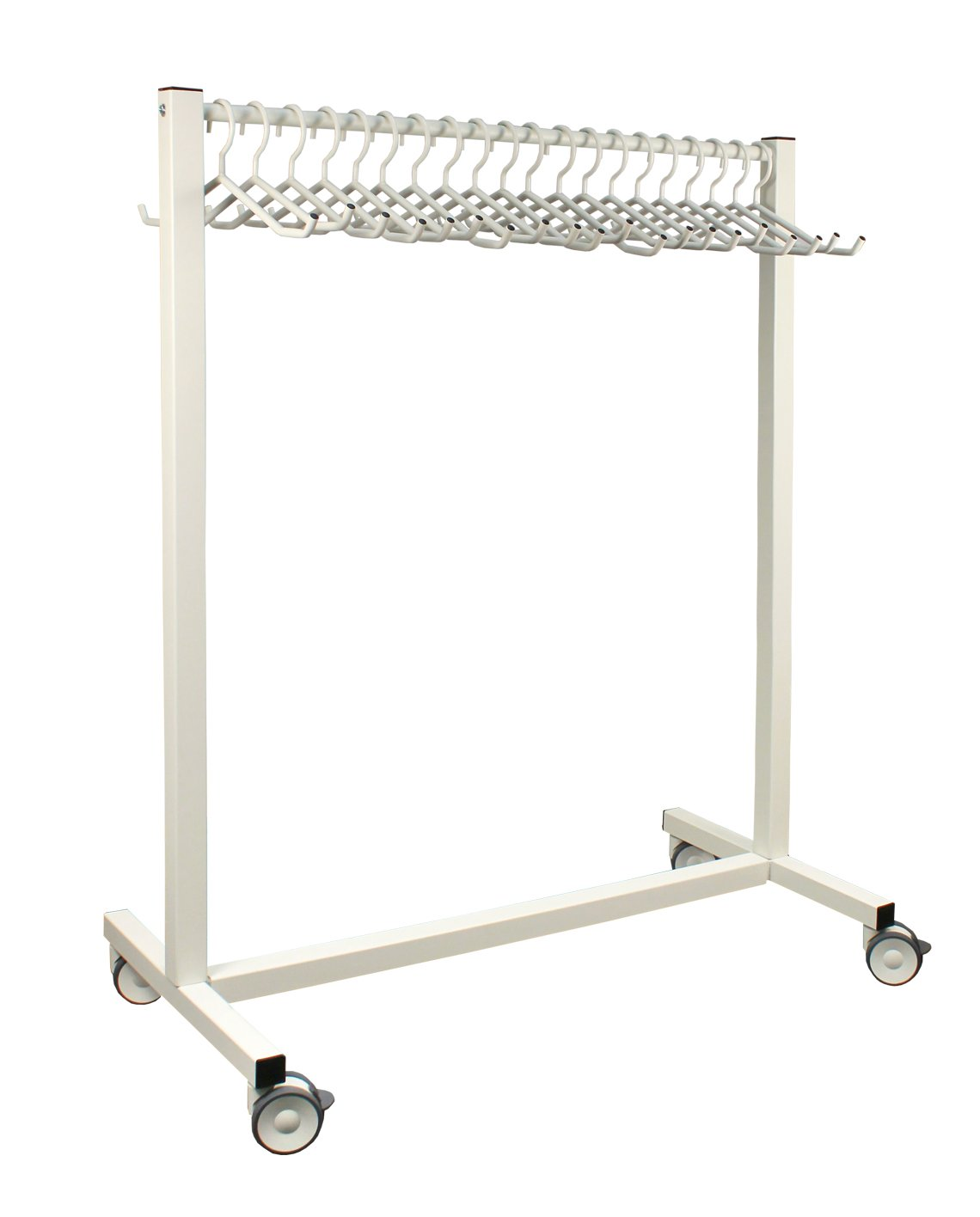 20 hanger mobile apron rack