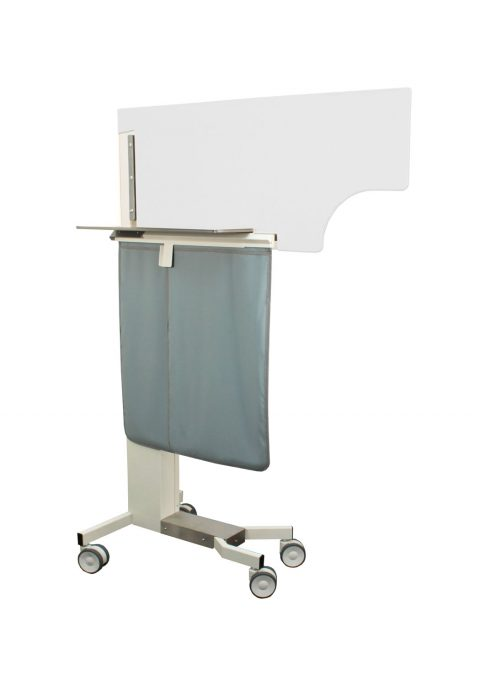 Adjustable Physician Protection X-ray Mobile Barrier