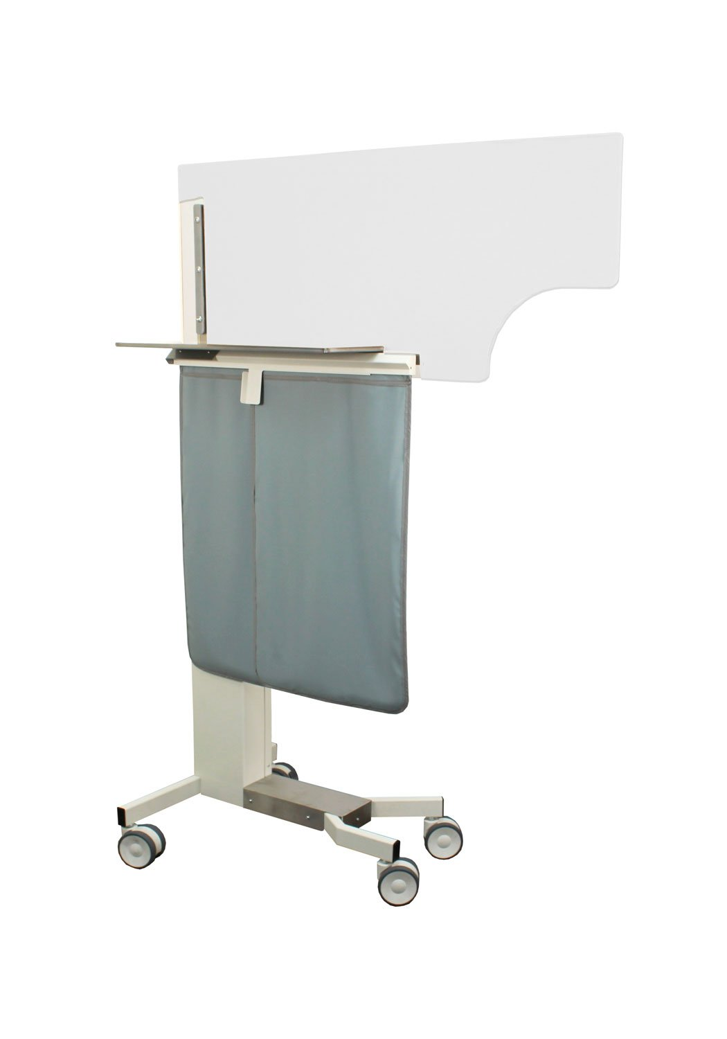 Adjustable Physician Protection X-ray Mobile Barrier – 076994