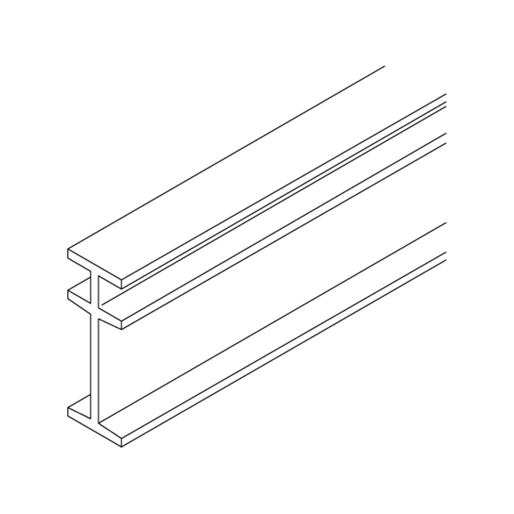 Curved Mounting Track