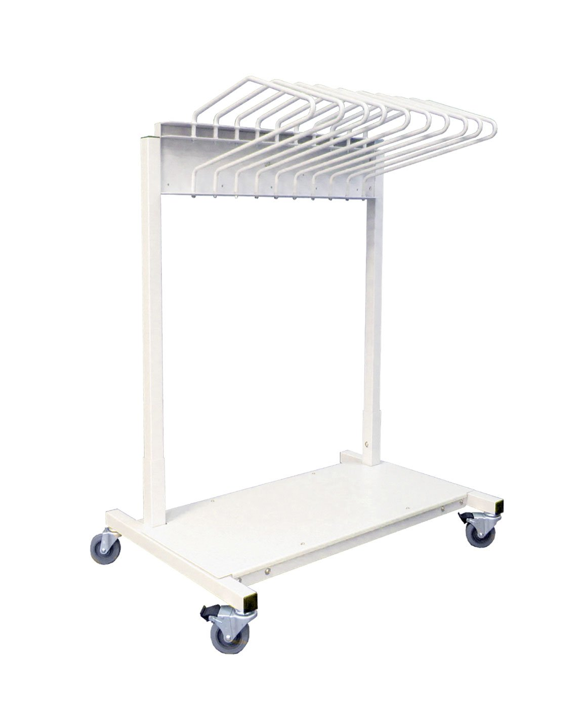 Budget Saver Mobile Apron Rack With 10 Arms – 683427