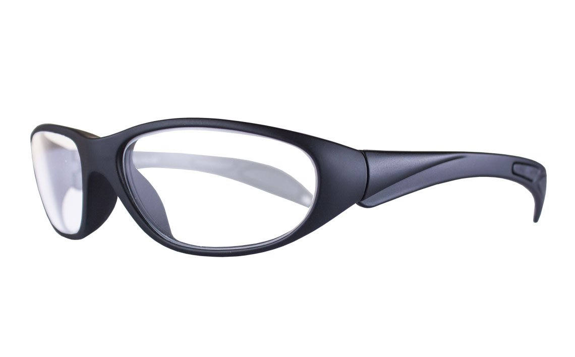lead glasses incredibles soft matte black 800064