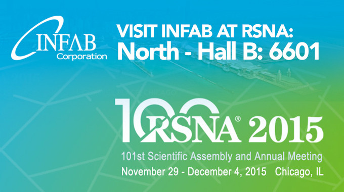 RSNA 2015 – Visit Infab In Booth 6601