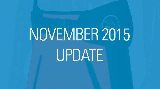 November 2015 Update