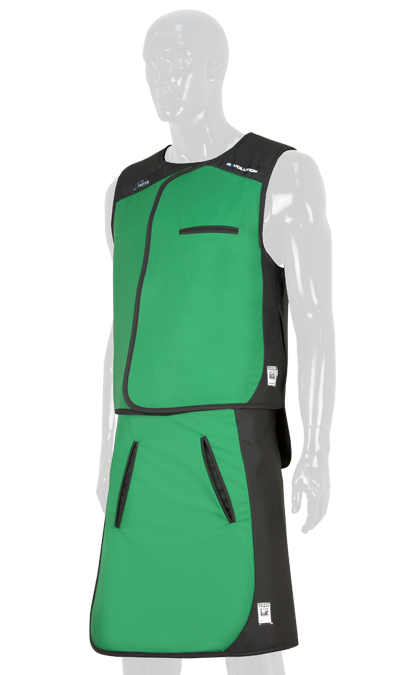 Green Lead Vest and Skirt