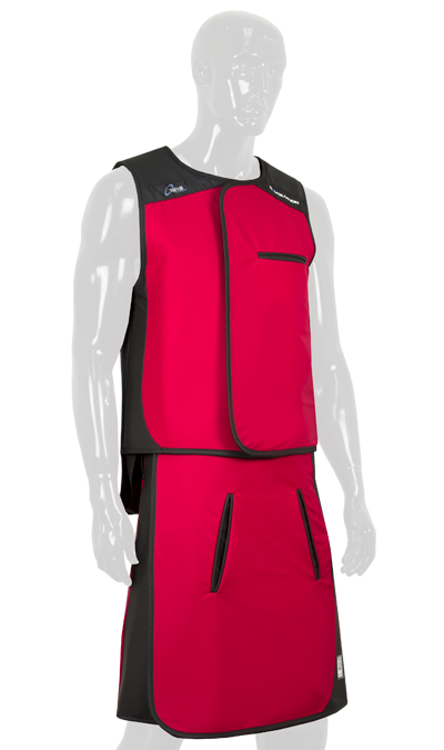 Red Lead Apron