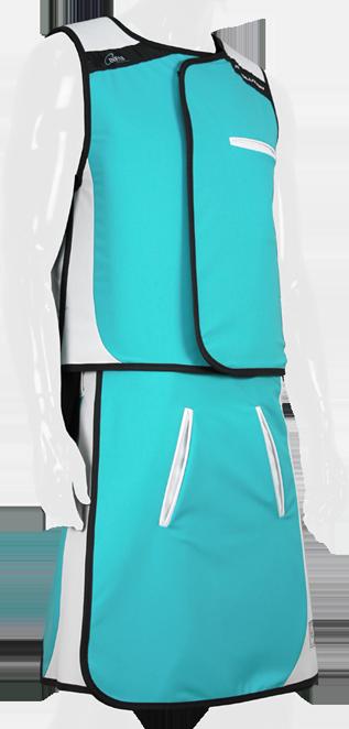Lead Skirt Green