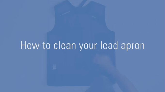 How To Clean Your Lead Apron