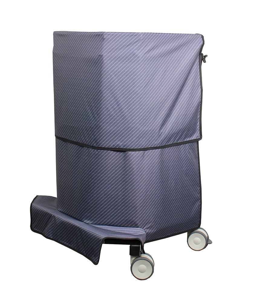 683495 Adjustable Height Wraparound Mobile Barrier