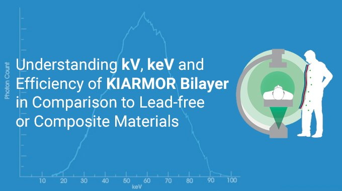 Understanding kV, keV and Efficiency of Kiarmor Bi-layer in