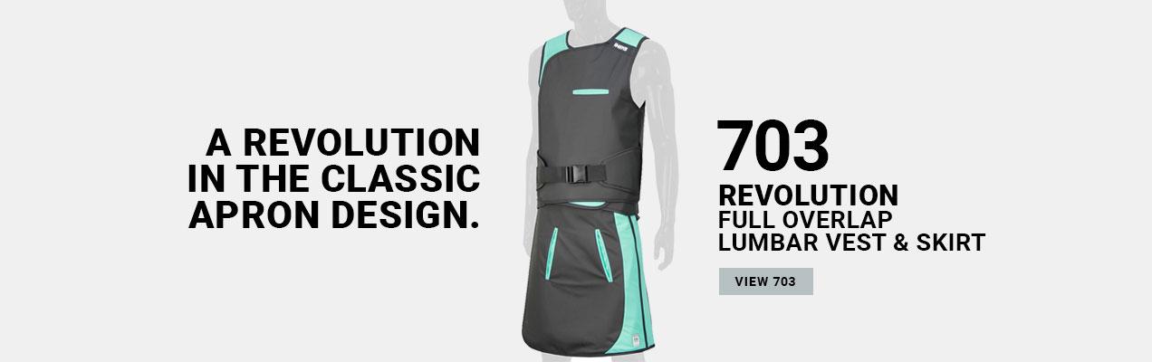 703 Lead Lumbar Vest & Skirt