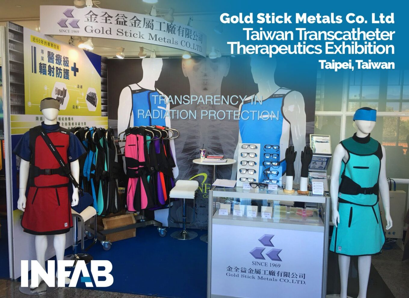 Gold Metals LTD Transcatheter Therapeutics Exhibition