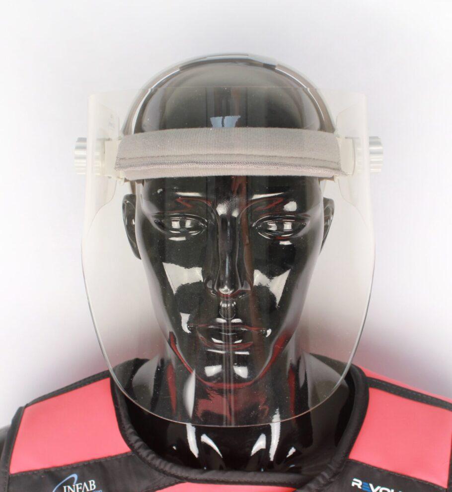 Lead Acrylic Full Face Shield