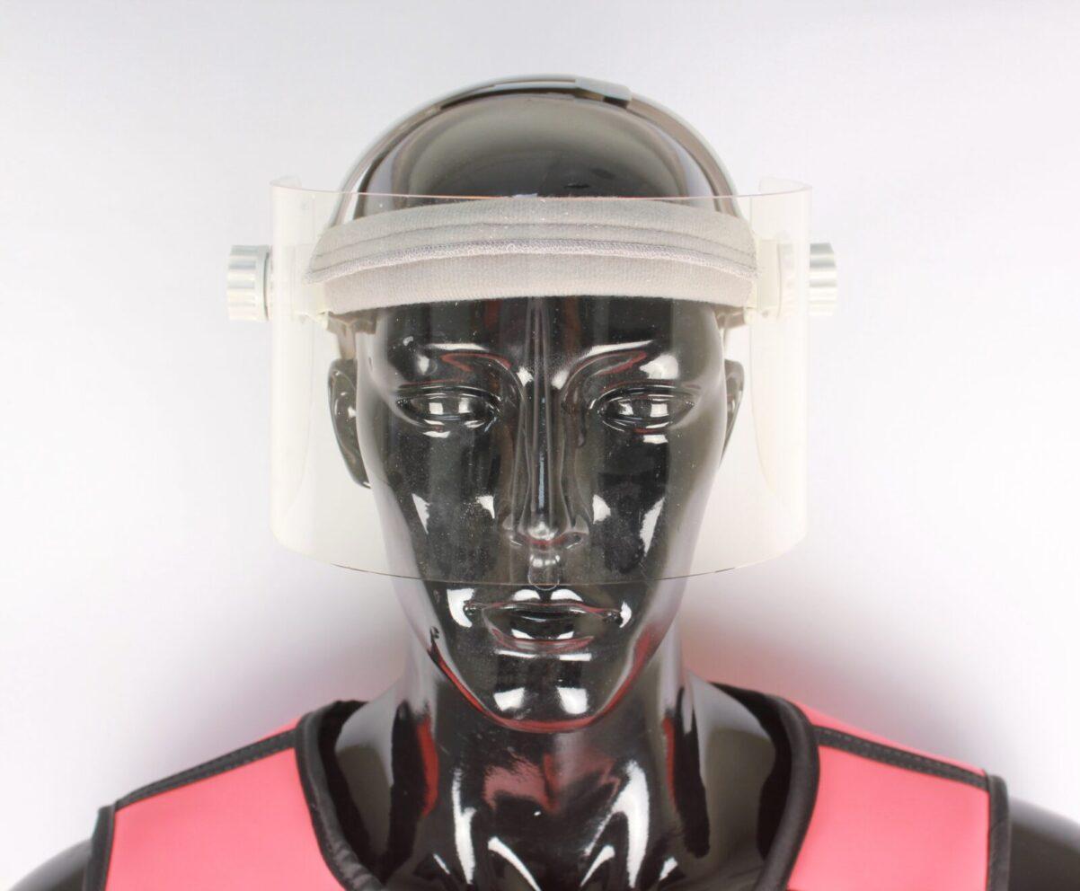 Lead Acrylic Half Face Shield
