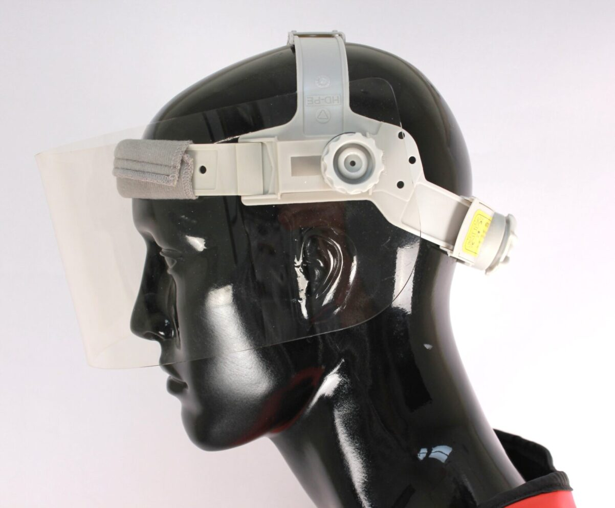 Half Shield Face Side