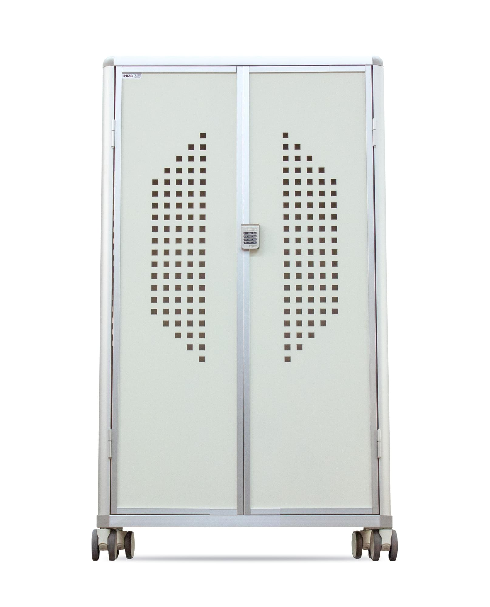 Revolution 10 Hanger Mobile Apron Locker