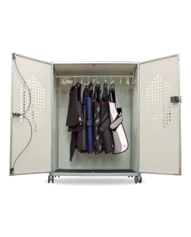revolution apron locker rev 20 open