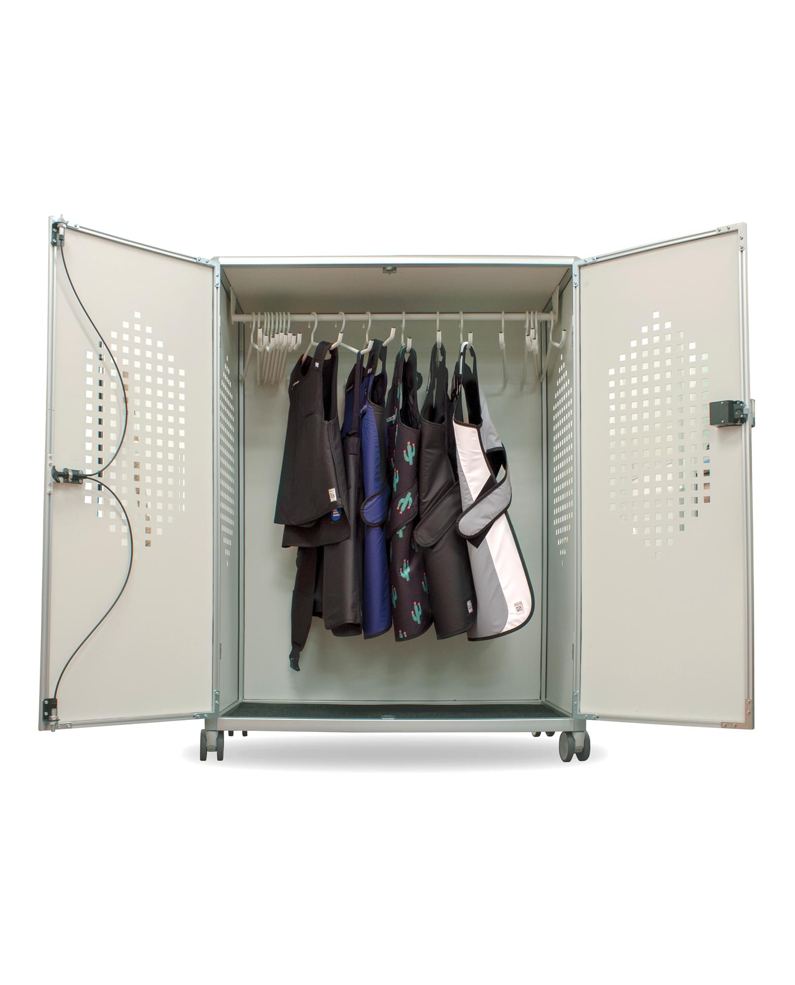 revolution apron locker rev 20 open