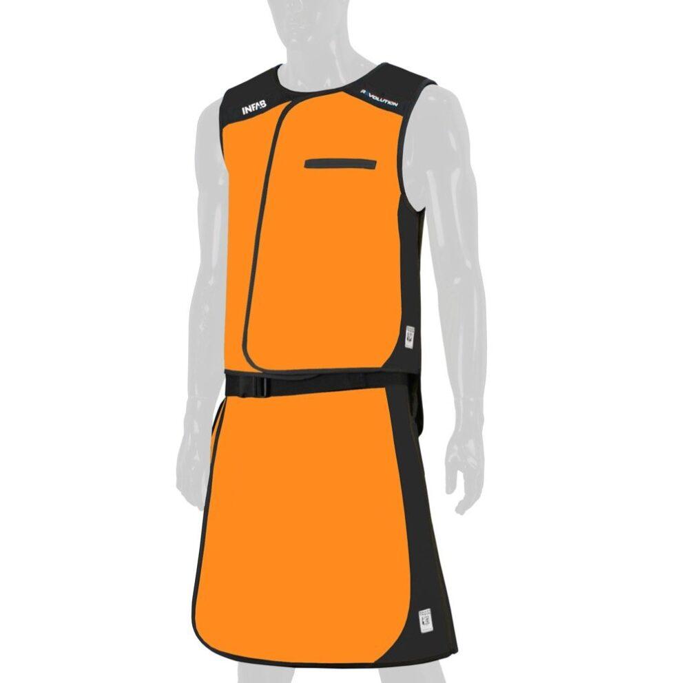 515 Orange / Black Block