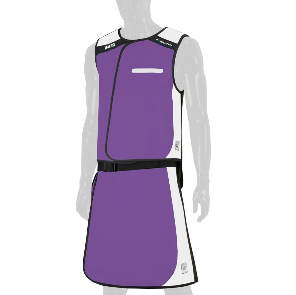 810 Purple / White Block