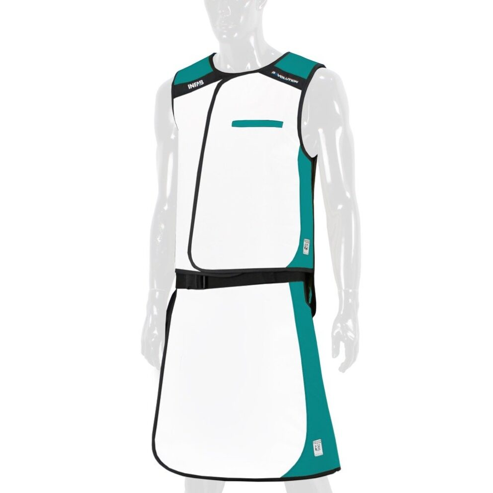 906 White / Teal Color Block