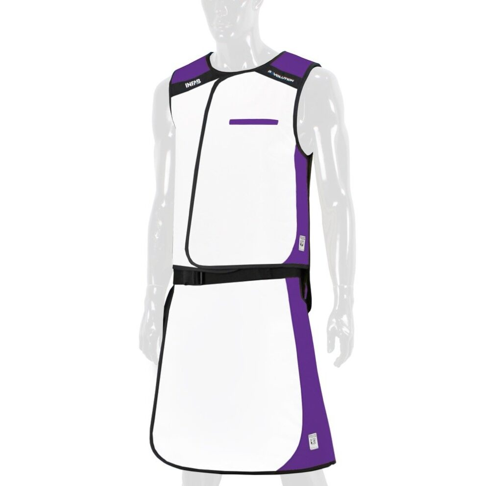 910 White / Purple Color Block