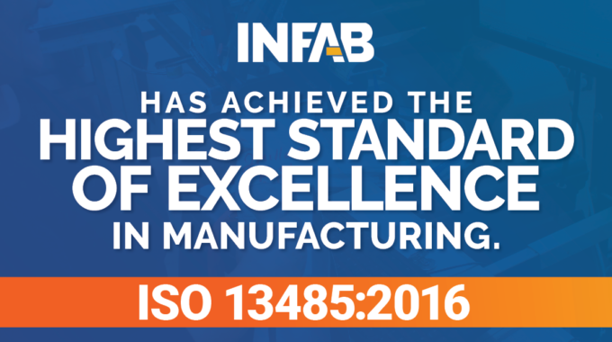 INFAB Certification To ISO 13485:2016