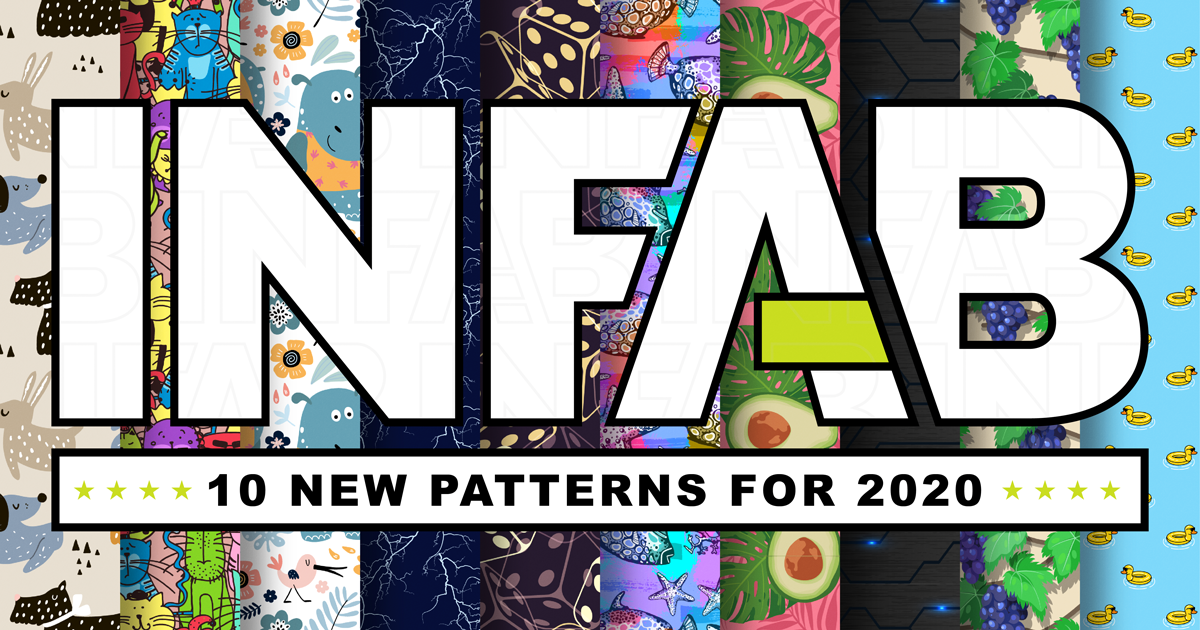 10 New Patterns For 2020!