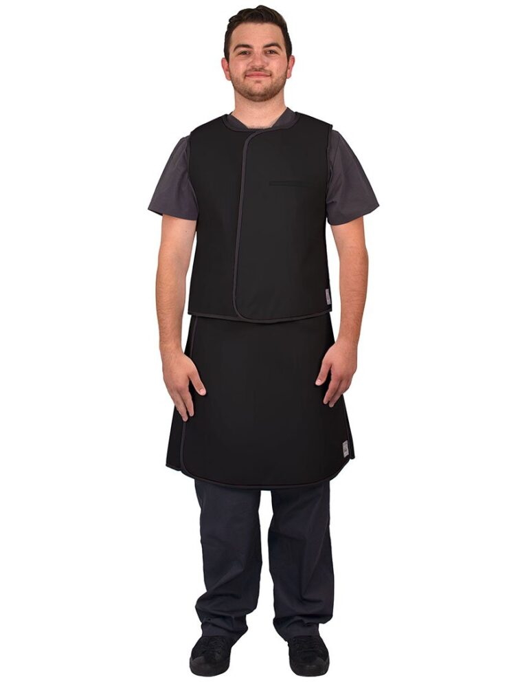 UVS Front Black Web Lead Apron