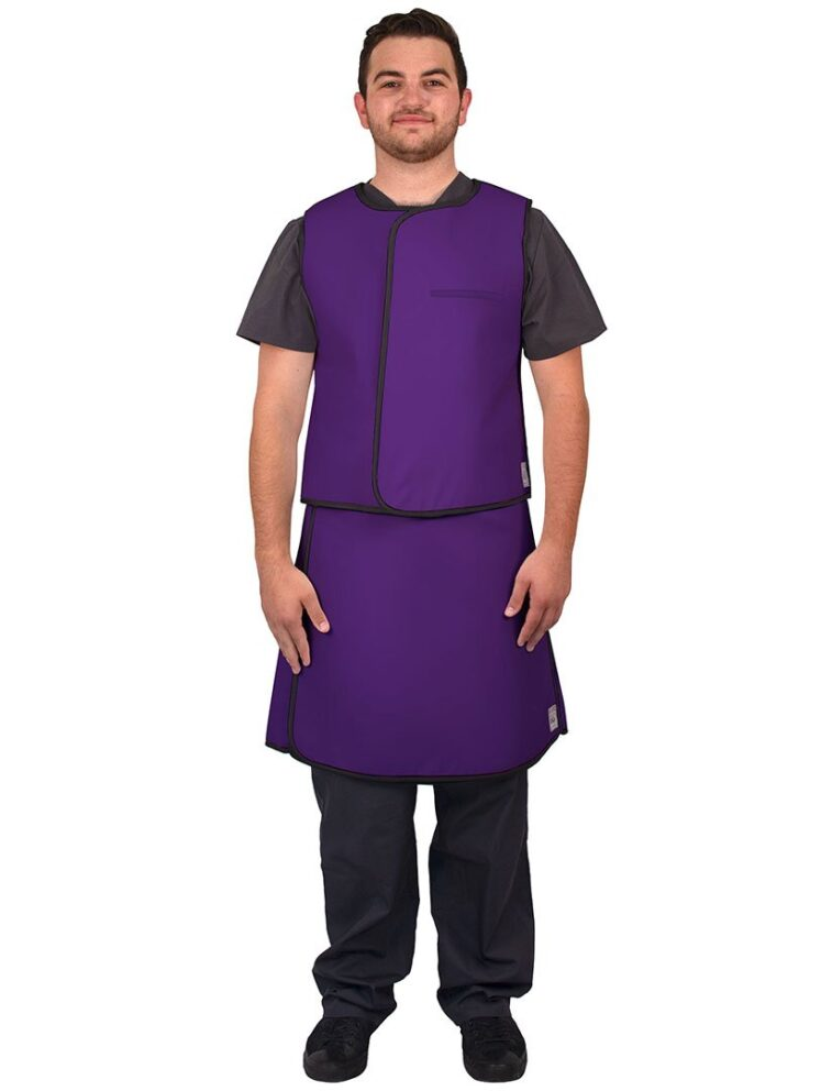 UVS Front Purple Web Lead Apron
