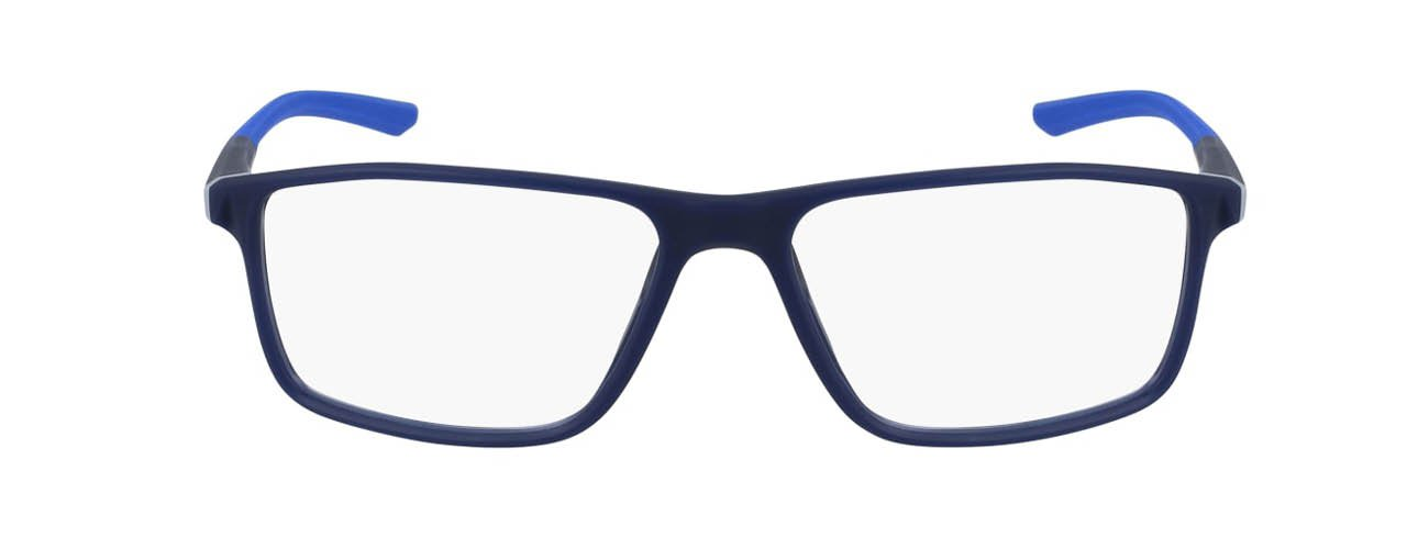 lead glasses nike 7082 01 navy racer blue front