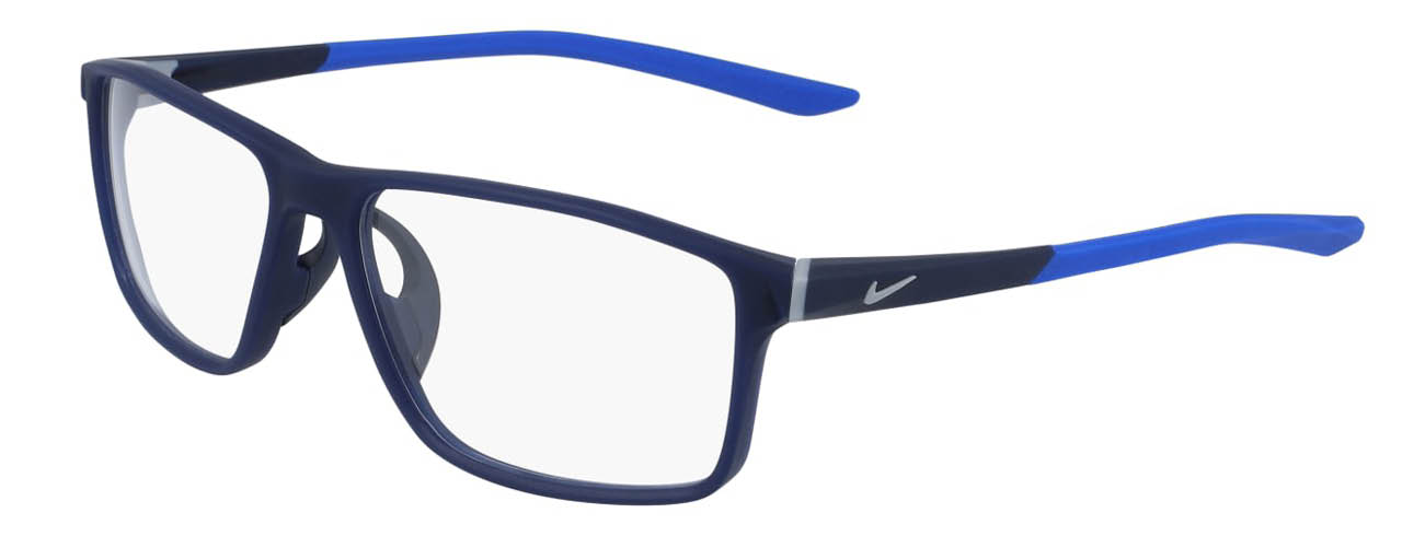 lead glasses nike 7082 01 navy racer blue left