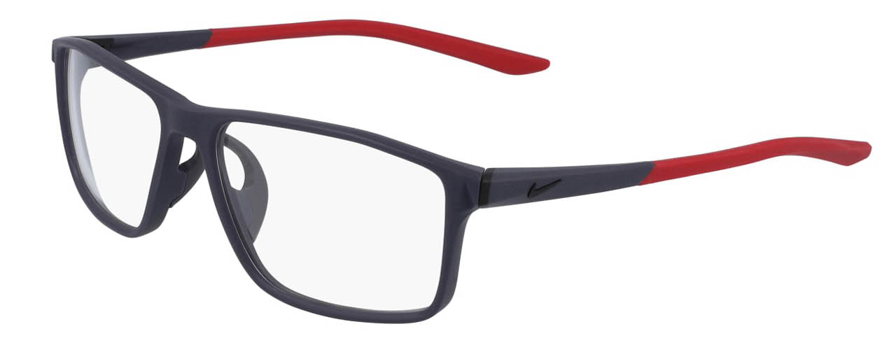 lead glasses nike 7082 02 gridiron gym red left