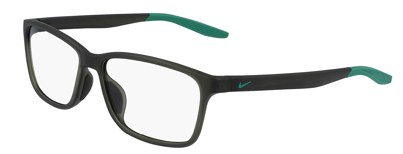 lead glasses nike 7118 01 matte sequoia lucid green