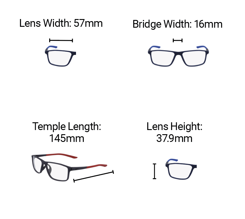 Radiation Glasses Nike 7082 Lead Glasses